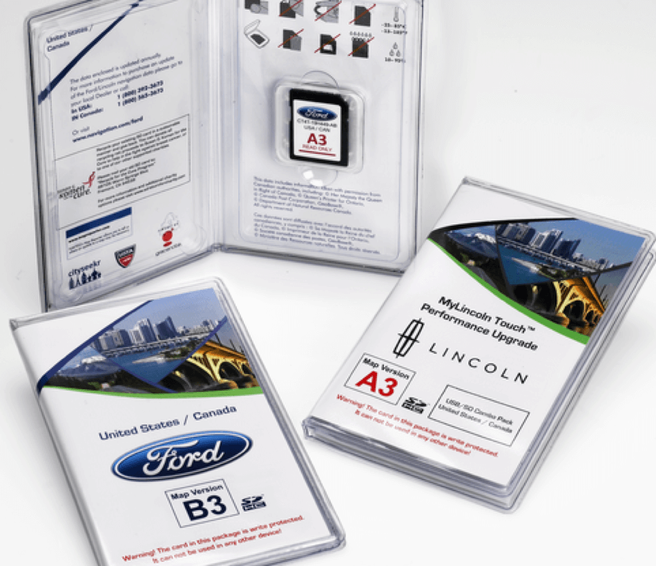 Ford and Lincoln SD Card cases